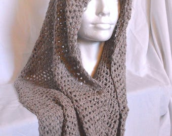 Sandstone Colored Infinity Scarf