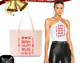 Bah Humbug Christmas SVG/PNG Files