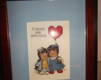 Friends cross stitch