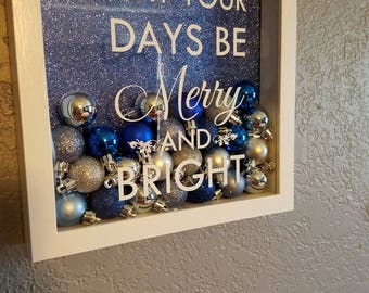 Merry and Bright Shadowbox
