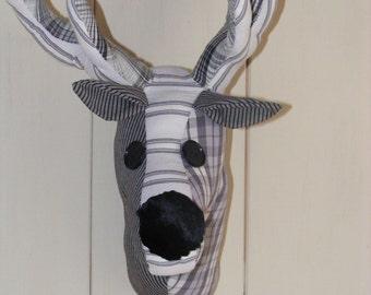 Faux taxidermy Reindeer Head