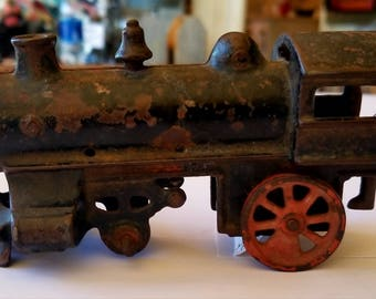 Cast Iron Train Set