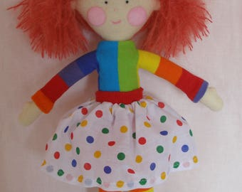 Handmade collectable felt doll