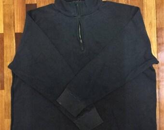 FREE SHIPPING!! Grab Before It Last!!Vintage Calvin Klein Sweatshirt // Big Size // Black