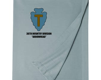36th Infantry Division Embroidered Blanket-6904