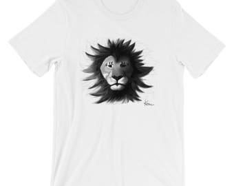 Shadow Lion by Keon - Short-Sleeve Unisex T-Shirt