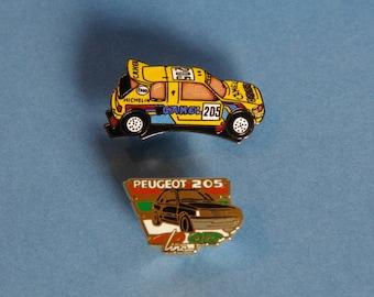 Peugeot 205 badges