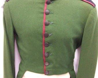 "Vintage 1930s Bell Boy Tailcoat Jacket ~ Green ~ Doorman 36"" chest 2"