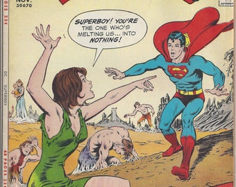 "Superboy #179 (November 1971) - ""Superboy Meets Ben-Hur"" plus ""Revolt of the Outcasts"" - with Lex Luthor - DC Comics"