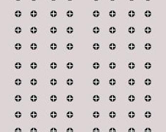 Rectangle Cribbage Board Template - Drueke 2050 Cribbage Game