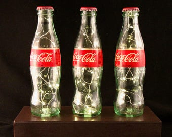 Coca-Cola Custom Customizable Soda Bottle Outlet Powered/Plug-In Light Gift