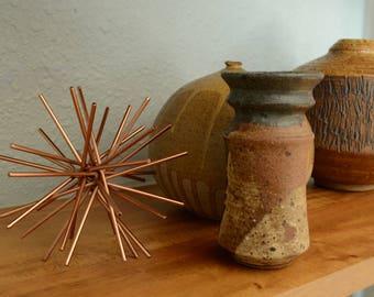 Signed Vintage Mid-Century Studio Pottery Vase