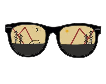 Mountain sunglasses