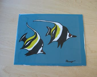 Fish Cell Paintings