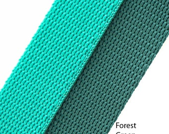 "5 metres of Extra strong polyproylene nylon webbing in various colours and sizes 3/4"" (19mm), 1"" (25mm), 1.1/2"" (38mm)"