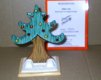 Wedgwood Clarice Cliff Bizarre Christmas Tree No3 of 1,000