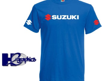Suzuki Tribute T-Shirt New Mens Sizes Small to 3XL