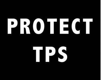 Protect TPS Sticker