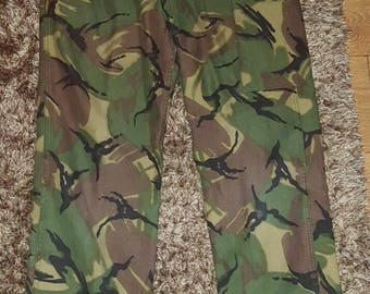 Vintage British Army 68 pattern trousers, 30'' waist