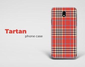 Tartan phone case, samsung a5 case, galaxy s7 case, iPhone case, lg g6 case, htc 10 case, huawei p9 case, samsung a3 case, iPhone X case