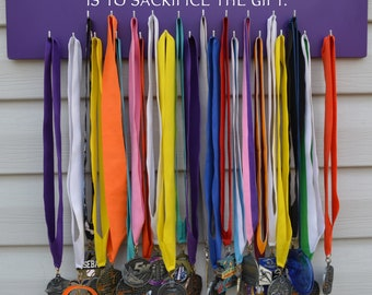 FAST SHIPPING Free Customizing Available   Running Medal Display Rack S4834 To give anything less