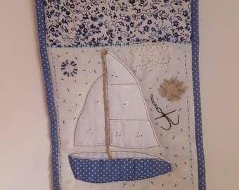 Sailing Boat Wall Hanging