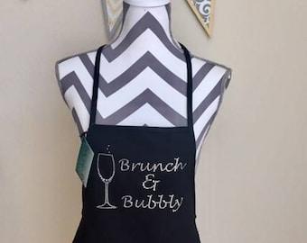 Brunch & Bubbly Apron