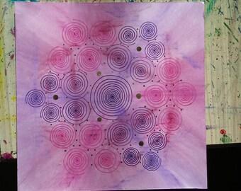 Spiral mandala 6