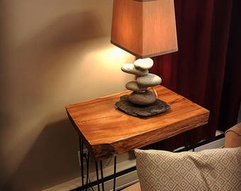 Beach Rock Lamp