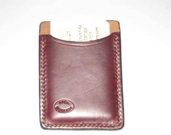 Genuine Horween Leather Business Card Holder