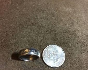 Quarter coin ring