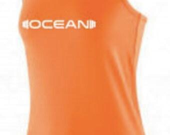 Womens 'Sunset Orange' Ocean Active Vest