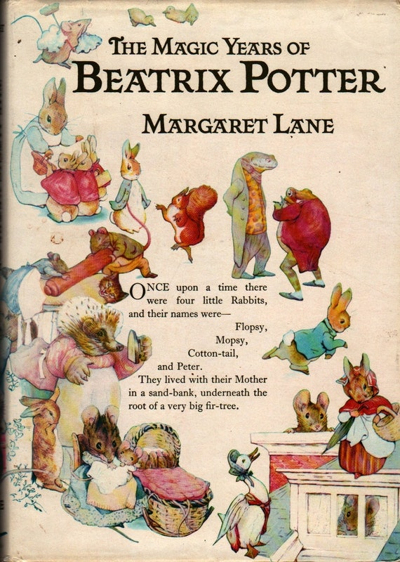 The Magic Years Of Beatrix Potter – First Edition – Signed - Margaret Lane - Beatrix Potter - 1978 - Vintage Biography Book
