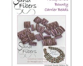 Persephone's Bounty Carrier Beads -  A Sand Fibers For Personal/Commercial Use PDF Pattern
