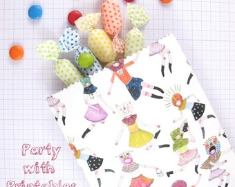 PDF Party Bag: Transcendent Party Bags- Download instantly for your next party