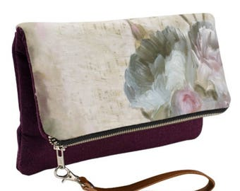 Fold-Over Clutch - Musical Notes - Available in 6 Colors