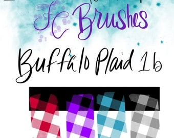 DIGITAL Download FC-Buffalo-plaid-1b for PROCREATE