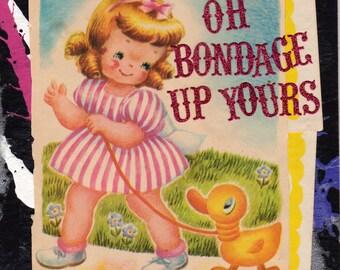 Oh Bondage {Original Collage}