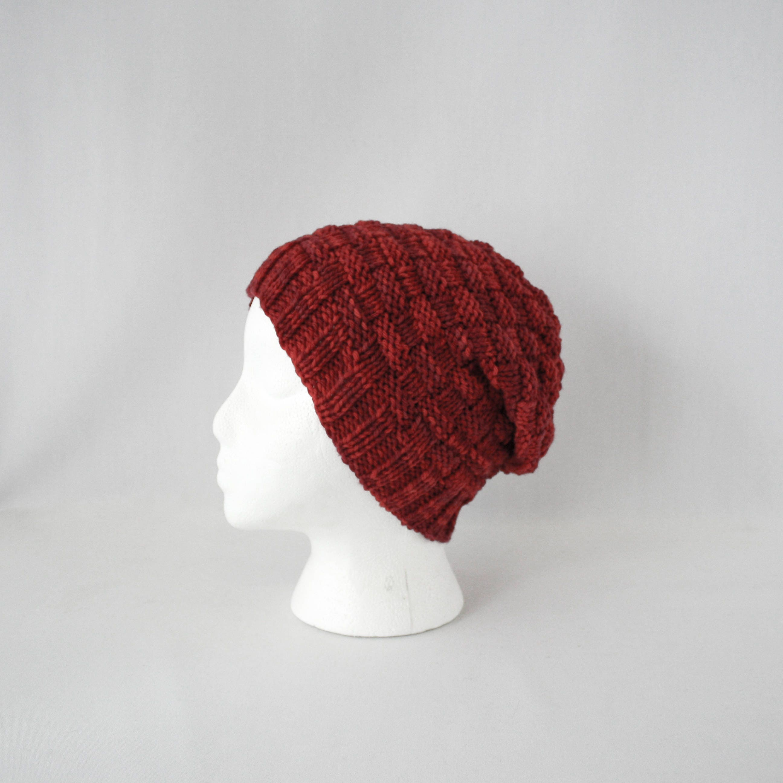Hive hat knitting pattern worsted slouchy basketweave cap knit this is a digital file bankloansurffo Choice Image