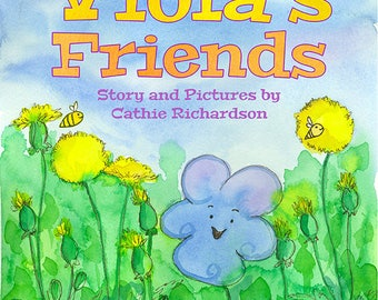Children's Picture Book Viola's Friends