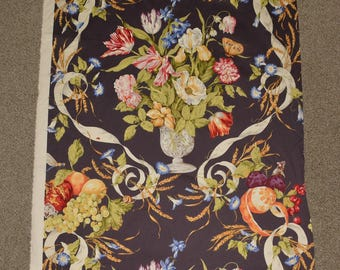 Scalamandre home decor fabric Medici Archives floral urn 16292 Stavagante  Stravagante  fabric