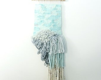 wash    .. wall hanging, weave, woven, wall art, wall decor, nursery art decor, home, living wall art,