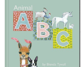 Animal ABC Book, Children's Book, ABC, Animal, Alphabet, Kids Gifts, Creativity, Learning