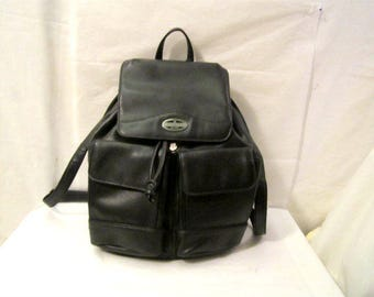 Backpack in Black Color,  Non Leather  Black Backpack Rosetti