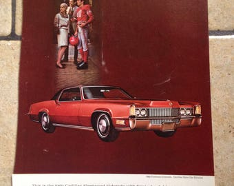 1968 Cadillac and Astroworld Advertisement