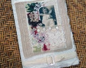 RESERVED4MARY - altered composition book - fabric covered journal - NO054