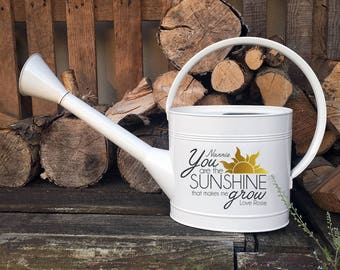 Personalised 'Sunshine' Watering Can