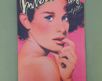 Interview Magazine, Debra Winger, Urban Cowboy, 1980's, Pop Art, Andy Warhol