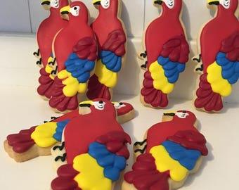 Margaritaville Parrot Cookies - 1 dozen