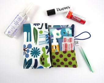 First Aid Kit - Jungle - red cross, emergency kit first aid pouch medicine bag baby shower gift
